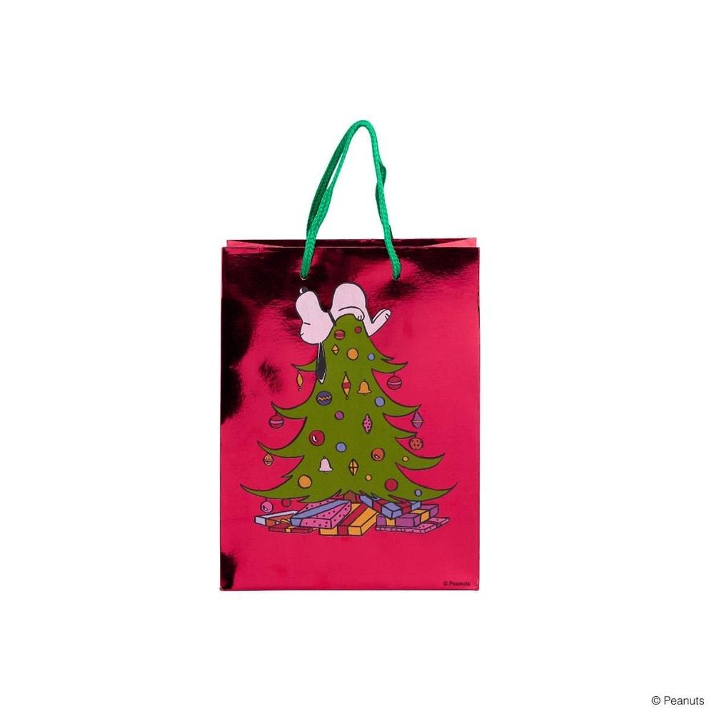PEANUTS Dárková taška Snoopy na stromě malá