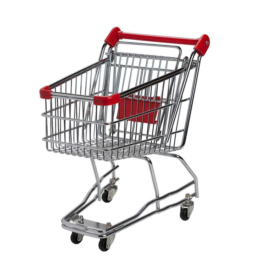 SUPERMARKET Nákupní vozík velký - červený