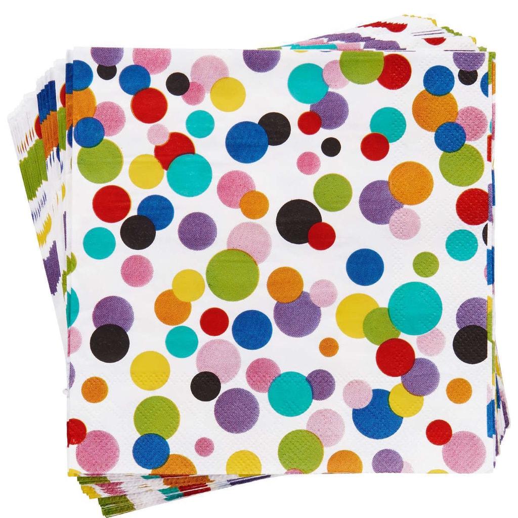 APRÉS Papírové ubrousky konfety