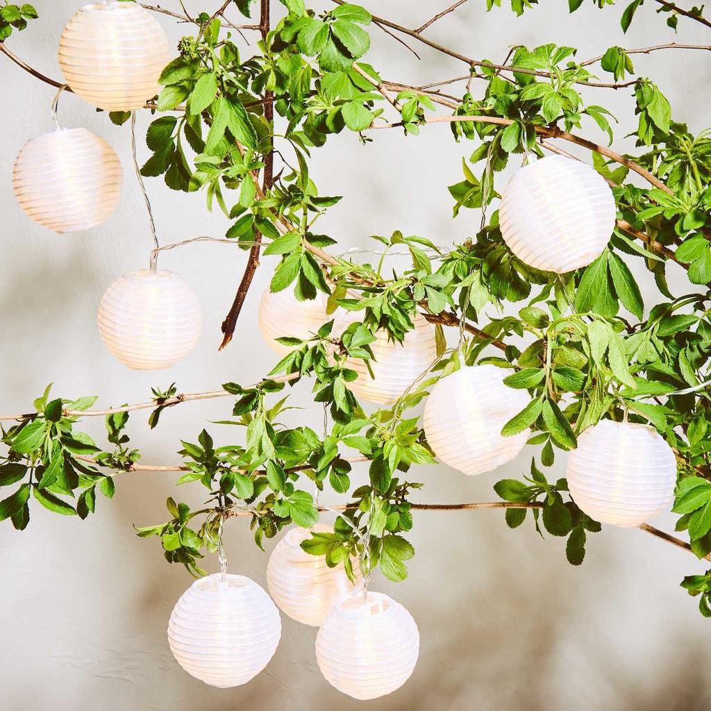 OPEN AIR LED Světelný řetěz venkovní 10 světel - bílá