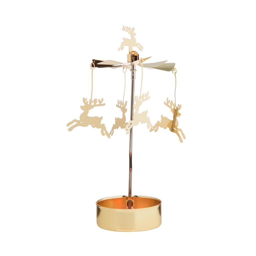 MERRY-GO-ROUND Kolotoč na čajovou svíčku jelen