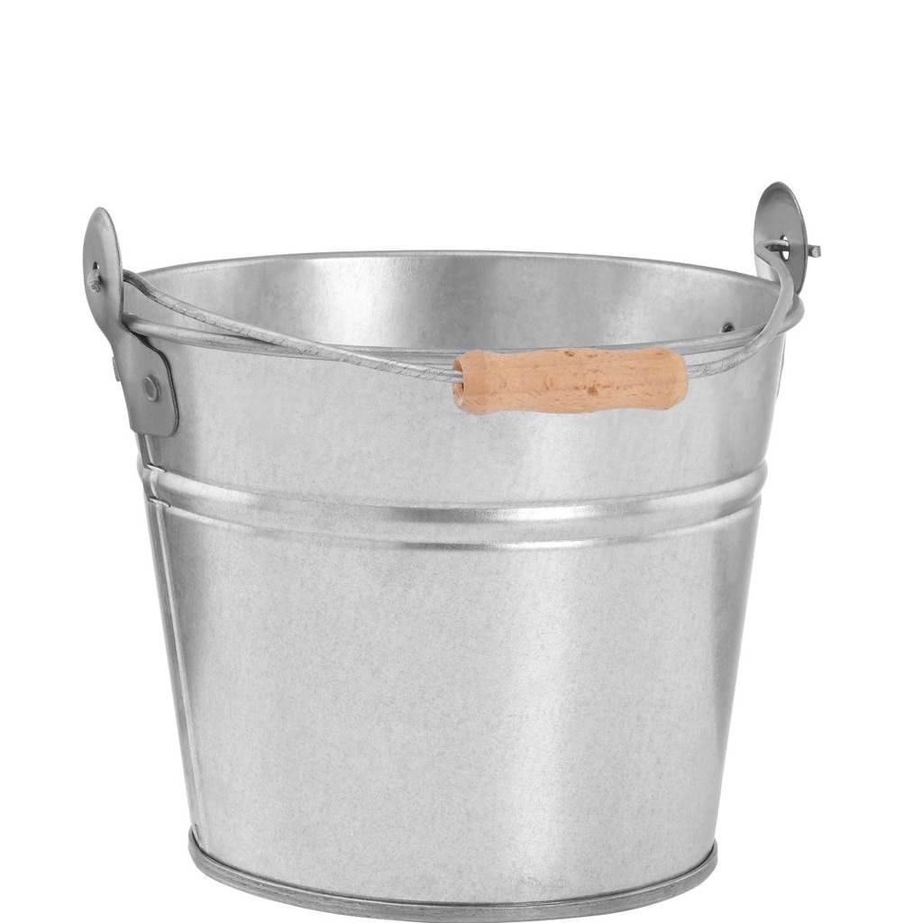 ZINC Kbelík 1,5 l - stříbrná