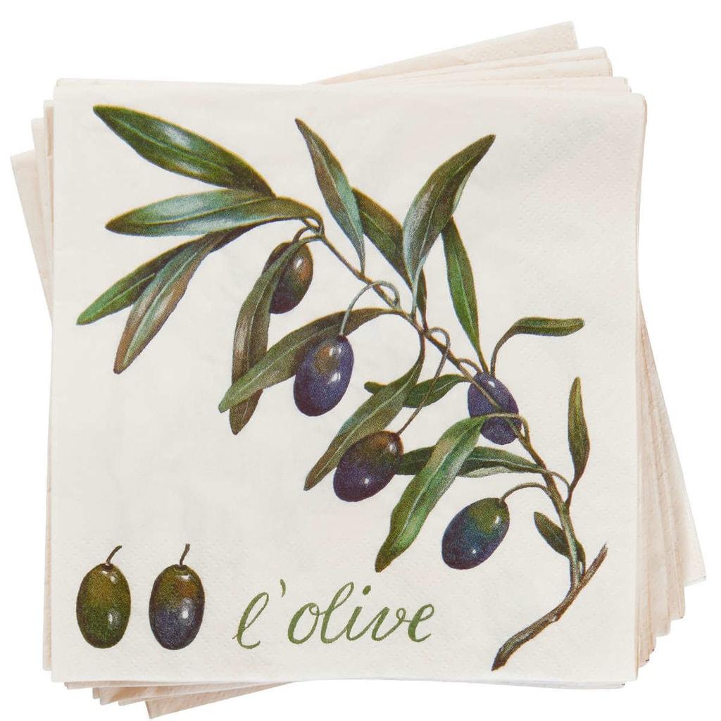 APRÉS Papírové ubrousky L'Olive