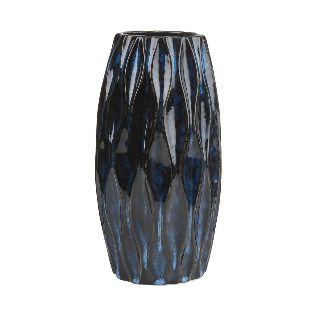 RUNA Váza - tm. modrá