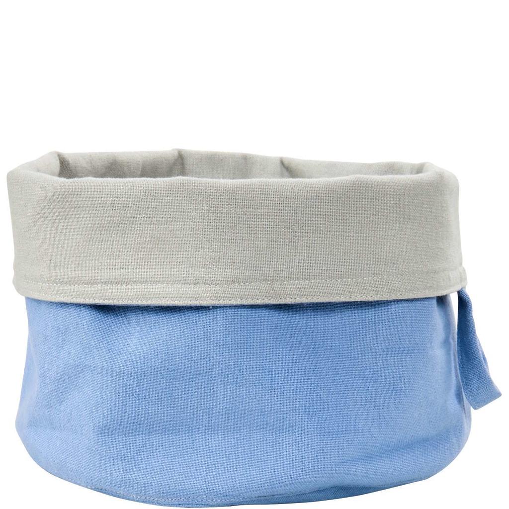 SPHERE Košík na pečivo textilní - modrá