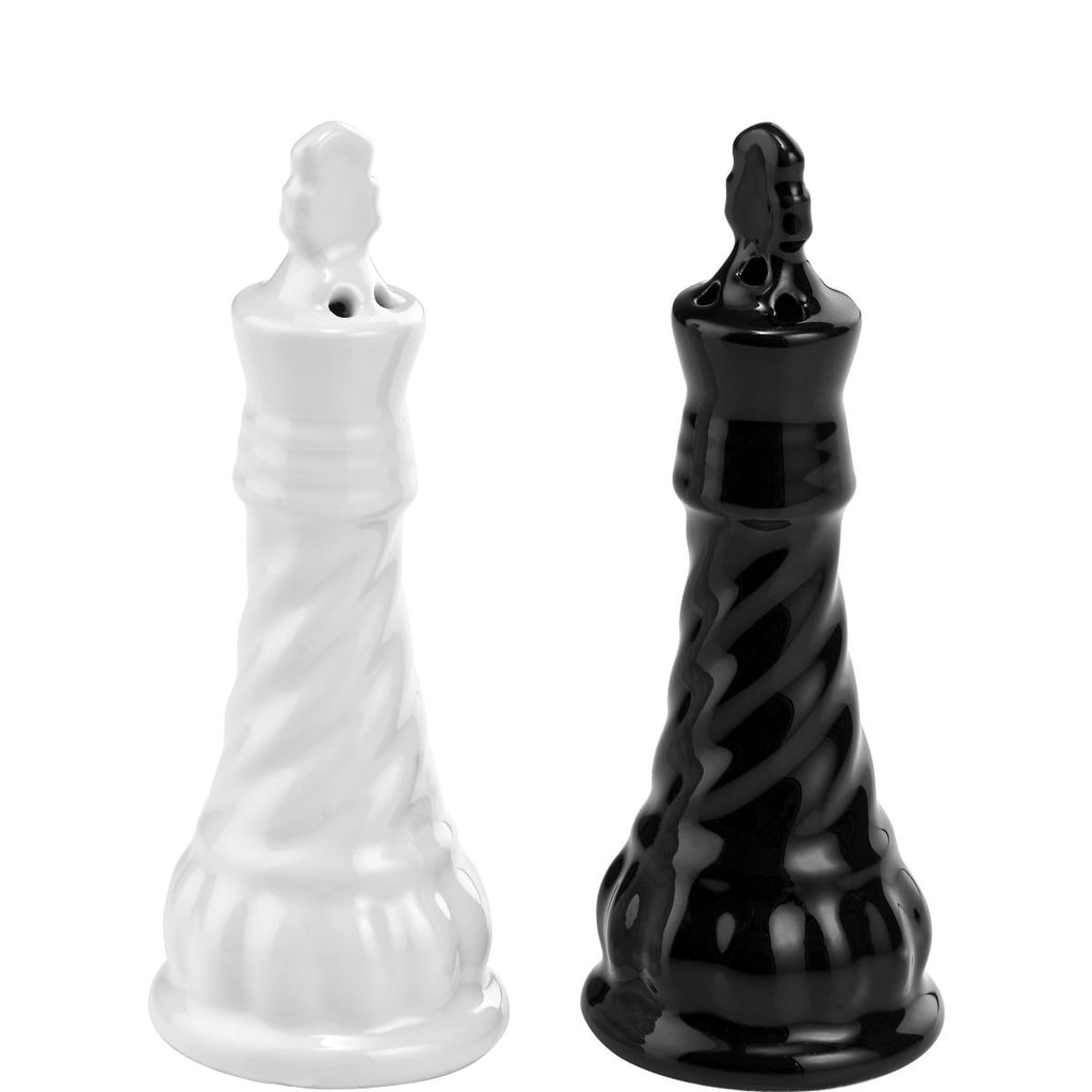 CHECKMATE Slánka a pepřenka šachy