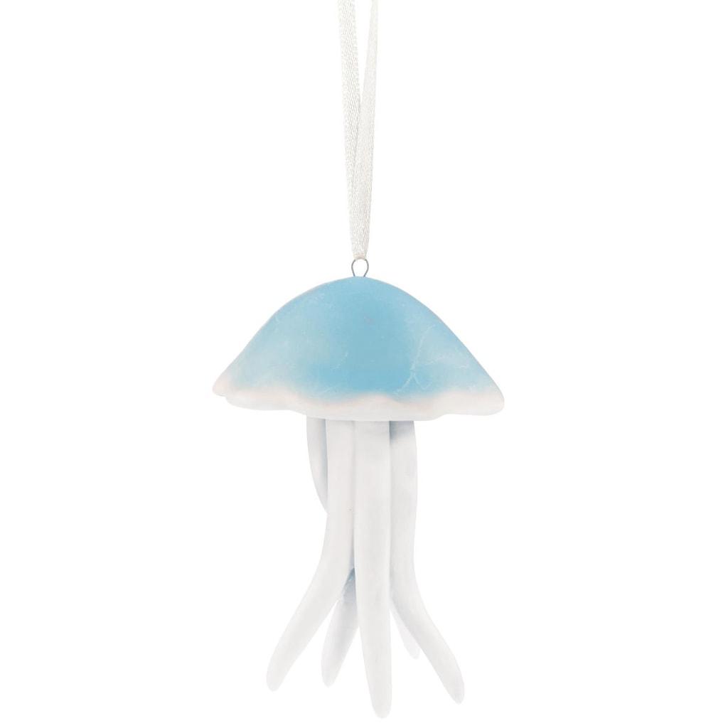 PEARLY BEACH Závěsná medúza - modrá