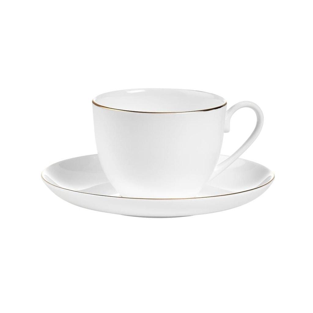 GOLDEN AGE Šálek na kávu s podšálkem