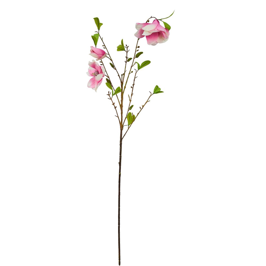 FLORISTA Magnólie na stonku - růžová