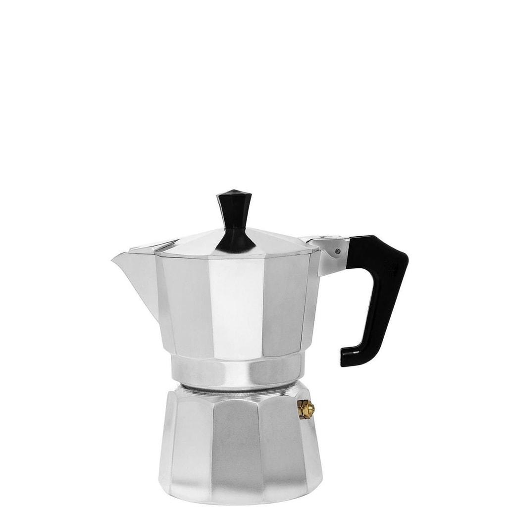 ESPERTO Kávovar na 1 šálek - stříbrná