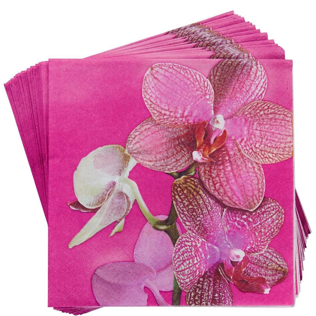 APRÉS Papírové ubrousky orchidej