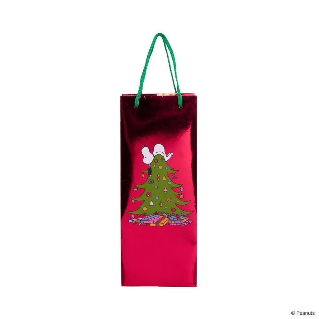 PEANUTS Taška na láhev Snoopy na stromě