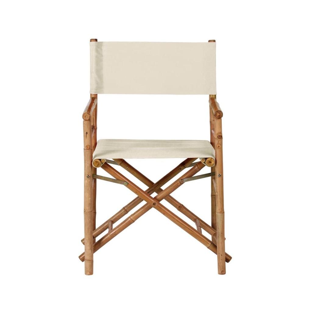 BOLLYWOOD Režisérská židle - béžová