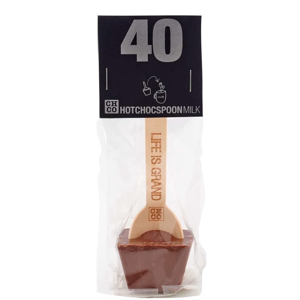 HOTCHOCSPOON Horká čokoláda 40% kakaa 50 g