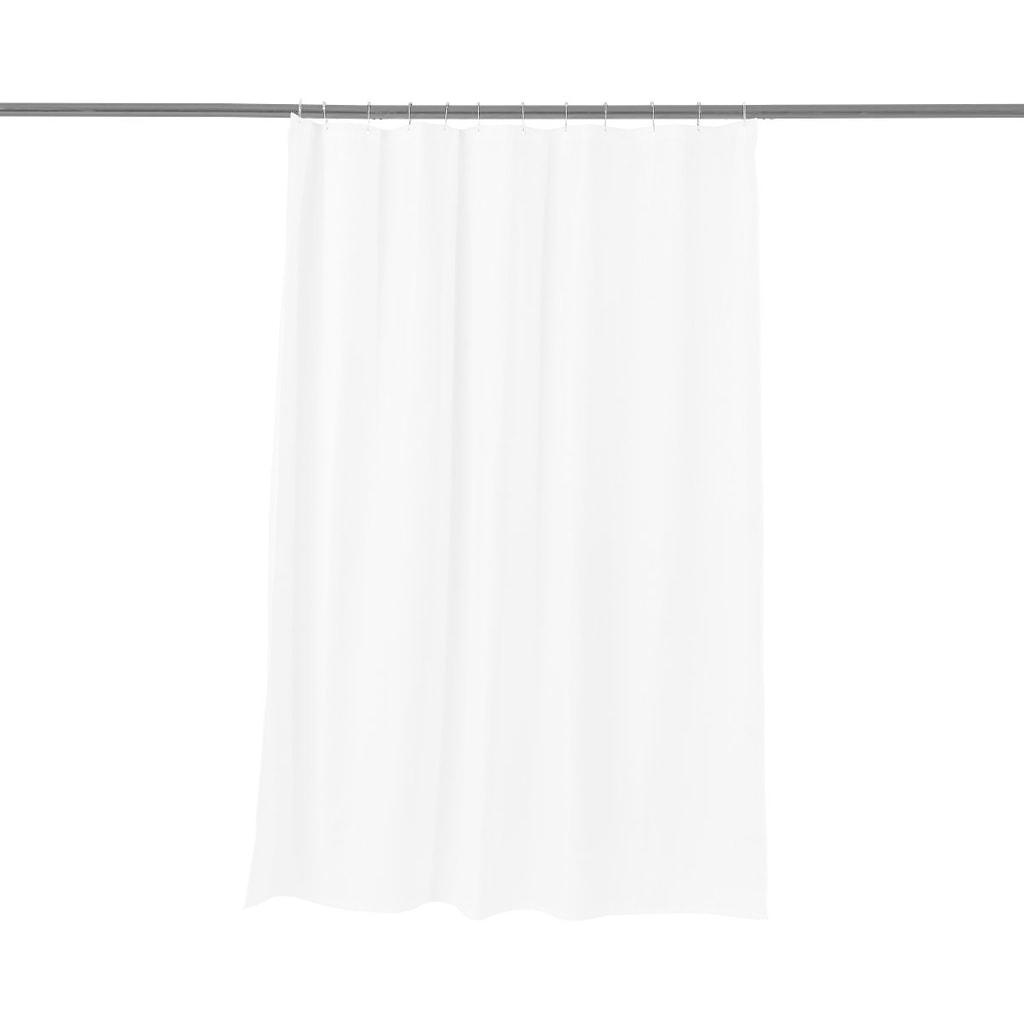 WET WET WET Sprchový závěs waflový vzor - bílá