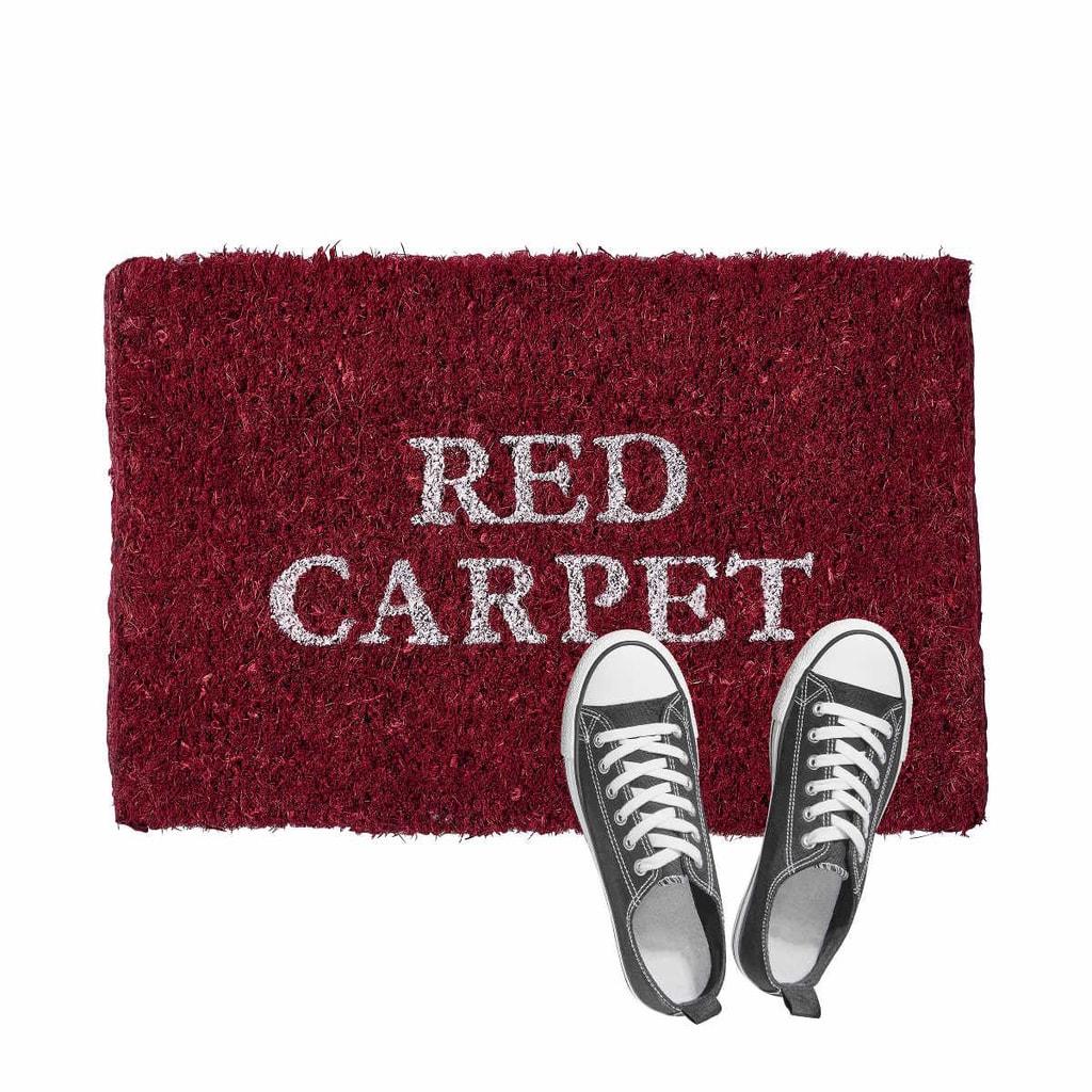 WELCOME Rohožka Red Carpet 25x40 cm