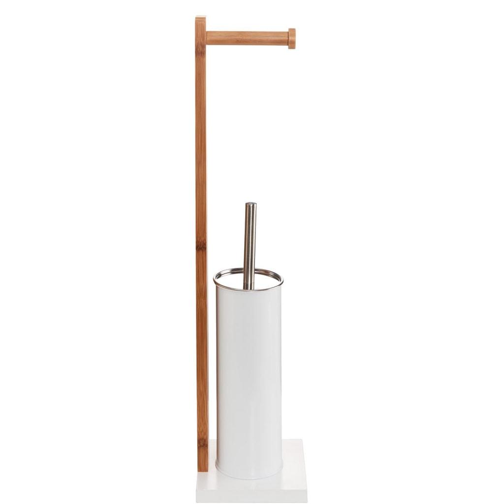 WHITE SANDS WC Stojan včetně záchodové štětky