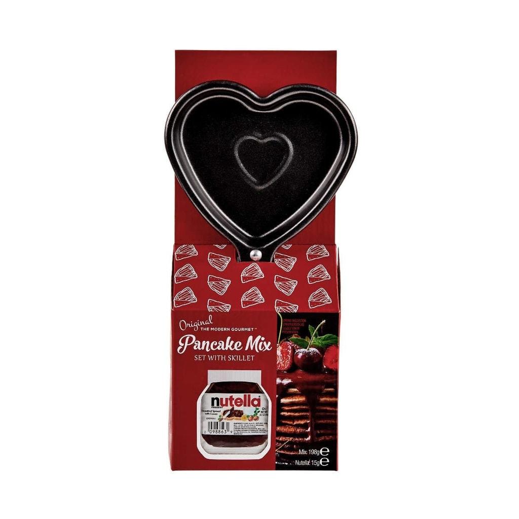 PANCAKE LOVE Směs na pečení palačinek s Nuttelou a pánvičkou 213 g