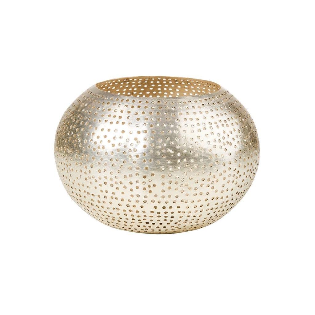 ARABIAN NIGHTS Svícen na čajovou svíčku puntíky 10,5 cm