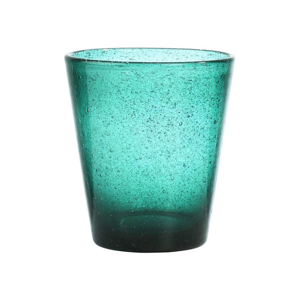 WATER COLOUR Sklenice 290 ml - tyrkysová