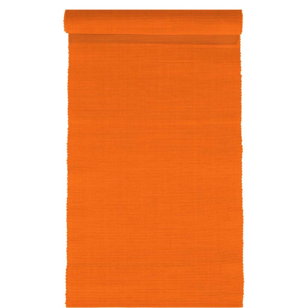MIX IT! Běhoun na stůl 35x150 cm - oranžová