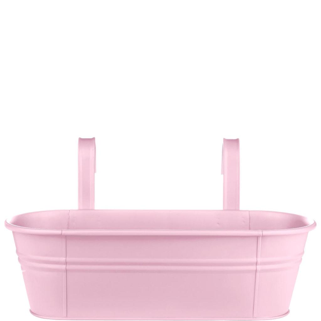 ZINC Truhlík k zavěšení, 50 cm - růžová