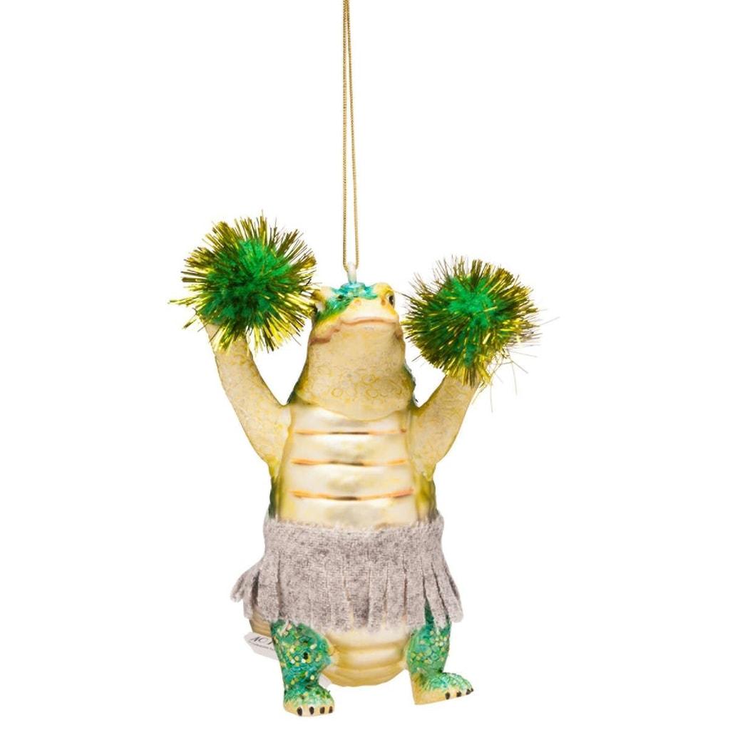 HANG ON Ozdoba Krokodýl s bambulemi