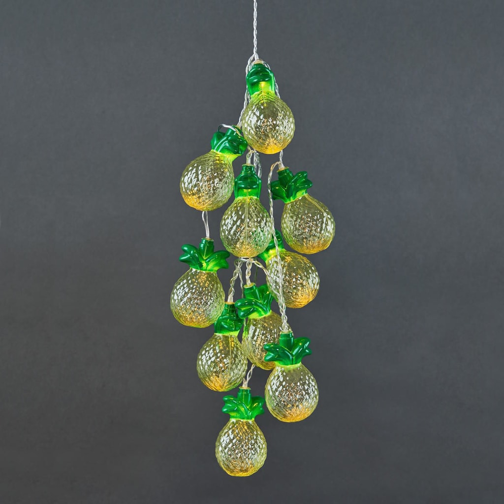 MIAMI Světelný LED řetěz ananas