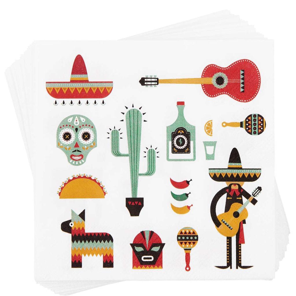 APRÉS Papírové ubrousky Mexico