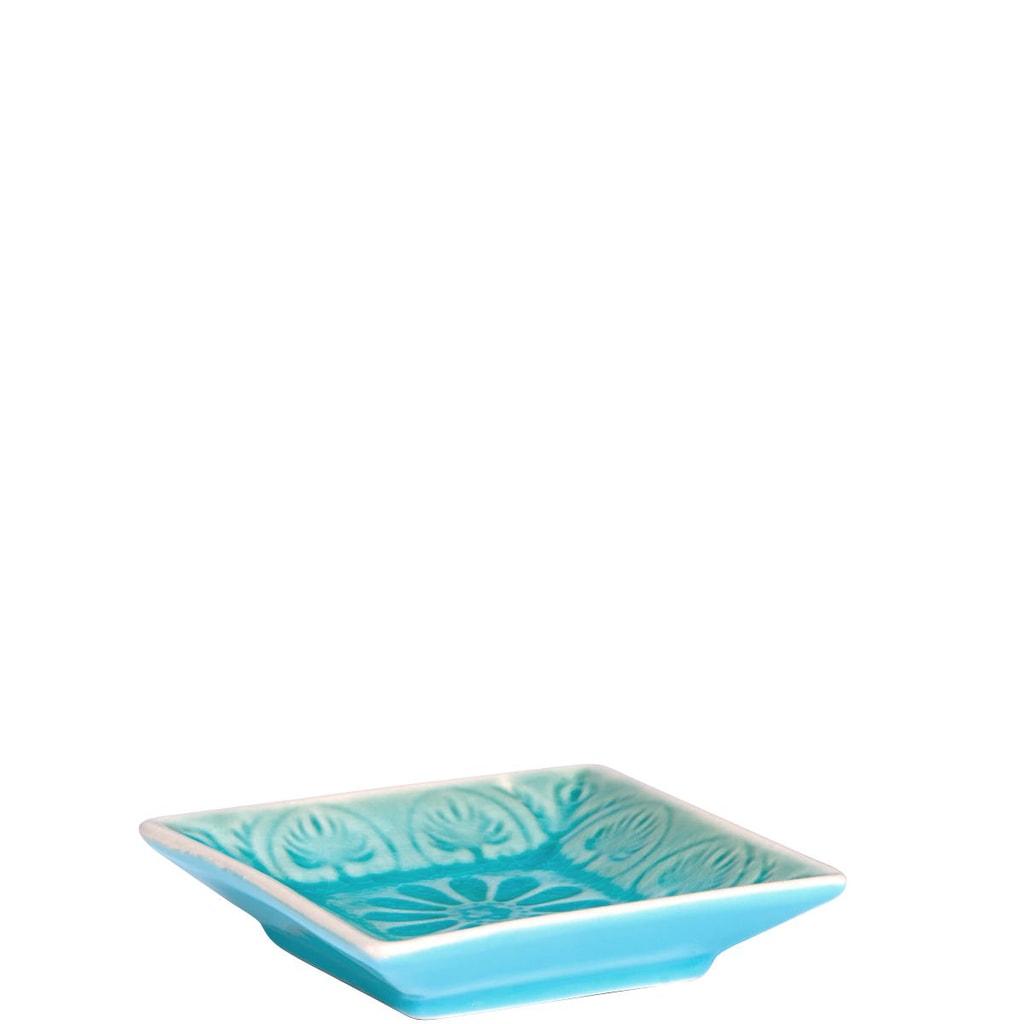 SUMATRA Mini miska hranatá - modrá