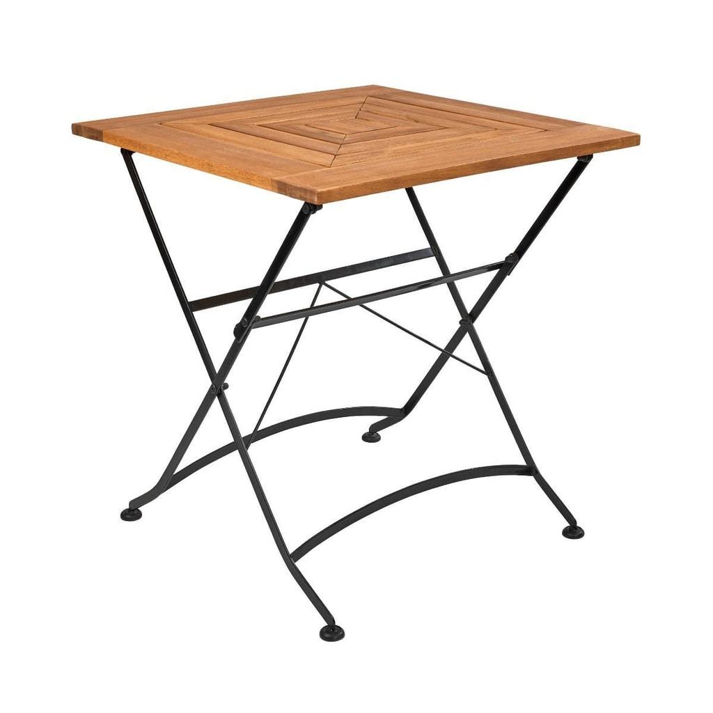 GARDEN STATE Skládací stůl 70 x 70 cm