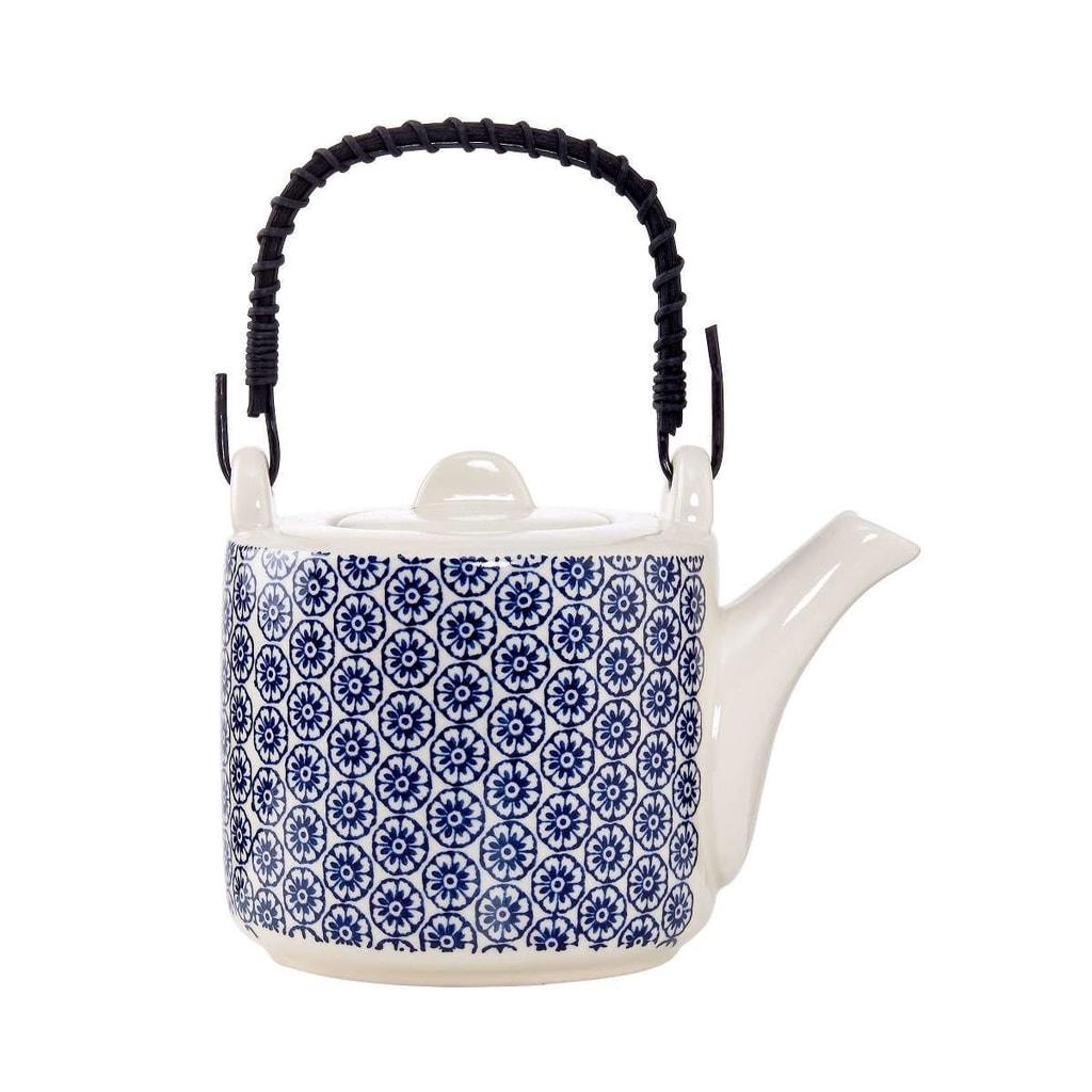 RETRO Konvička na čaj - modrá