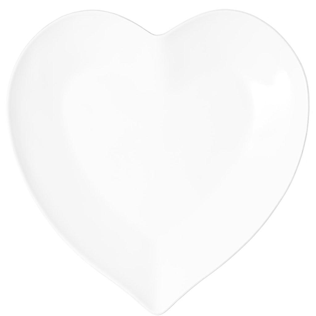 HEART Talíř ve tvaru srdce 28 cm