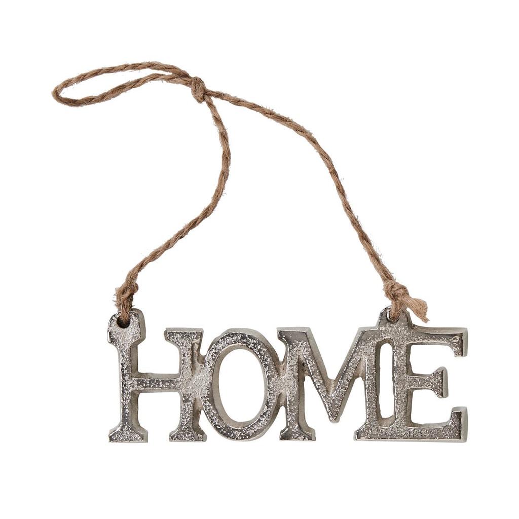 HANG ON Ozdoba nápis HOME