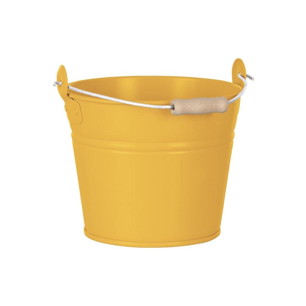 ZINC Kbelík 16 cm - žlutá