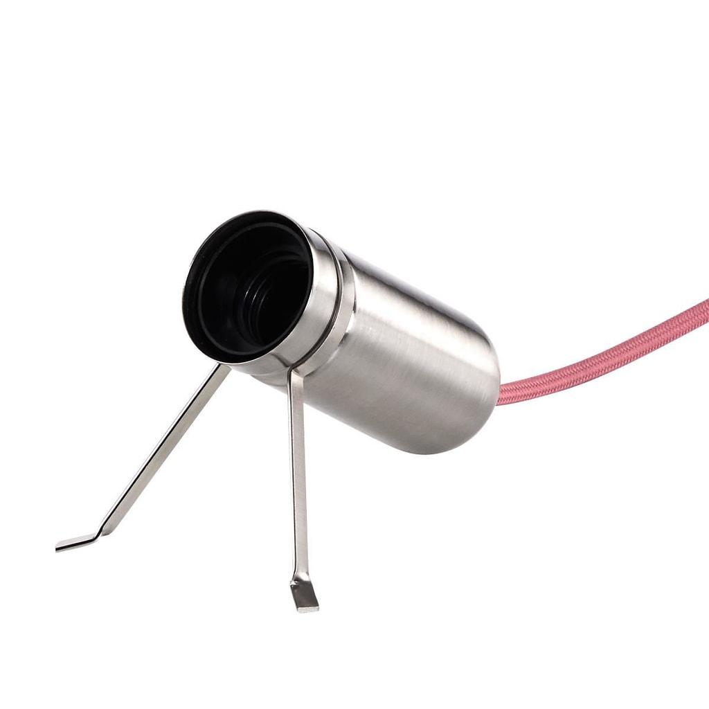 Fotografie LUMOS Stolní lampa - stříbrná