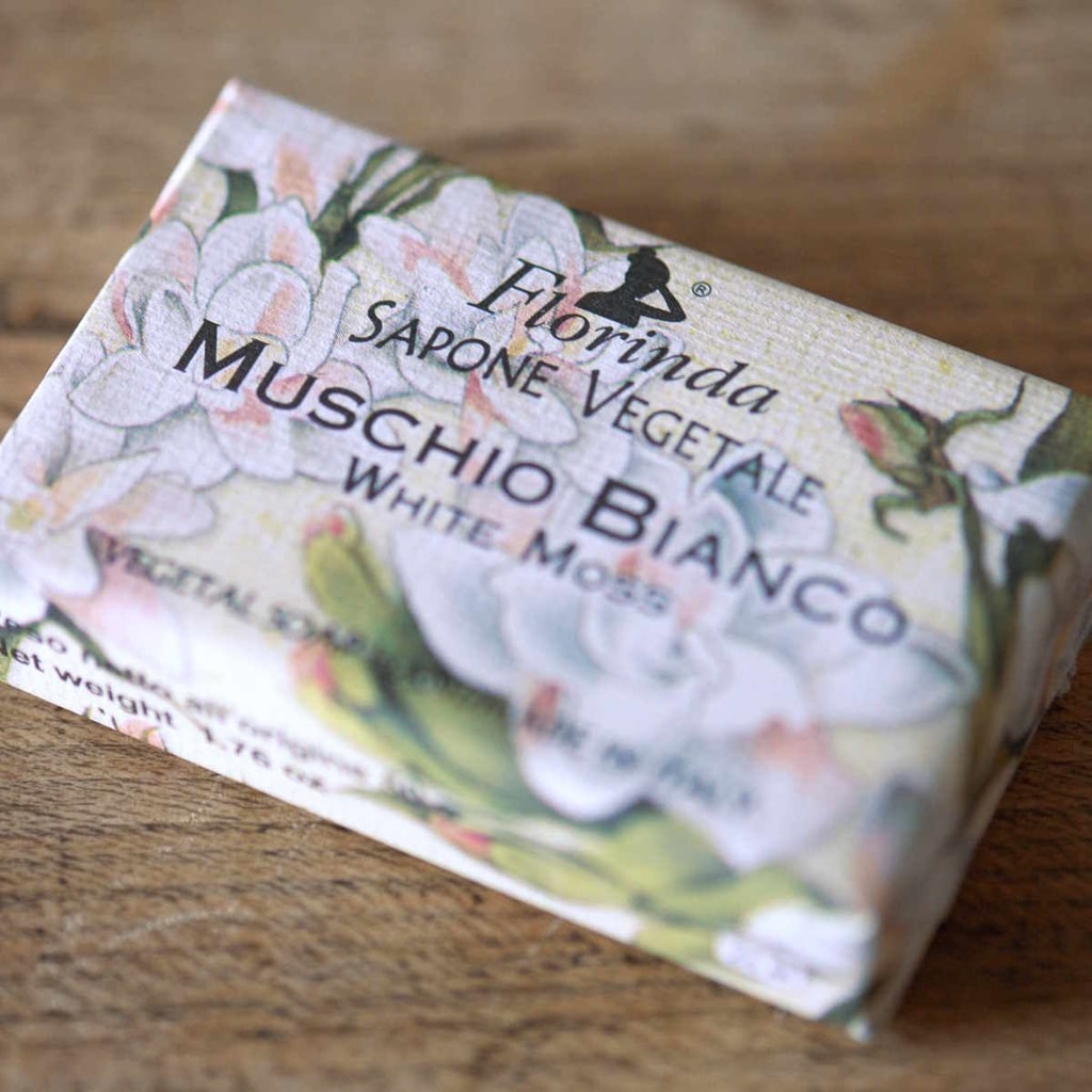 FLORINDA Mýdlo Bílý mech