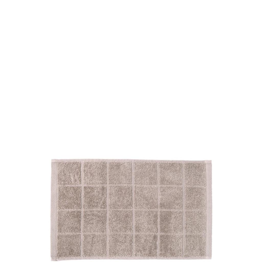 COTTON CLUB Ručník 30x50cm - šedohnědá