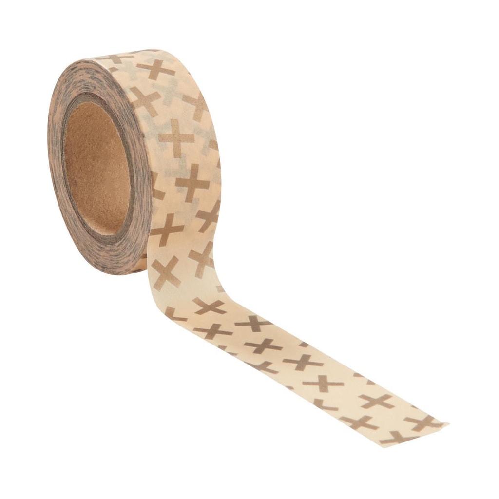 TAPE Lepicí páska křížek 10 m