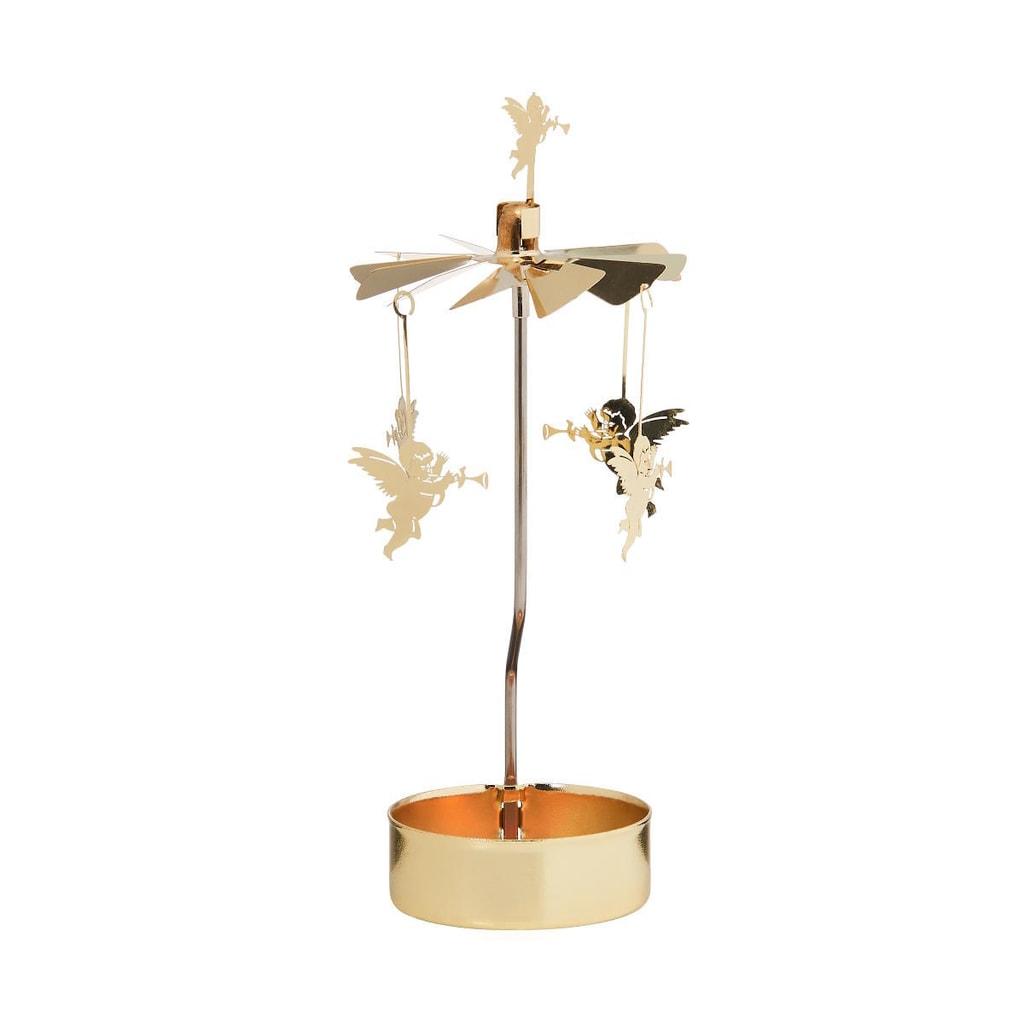 MERRY-GO-ROUND Kolotoč na čajovou svíčku anděl