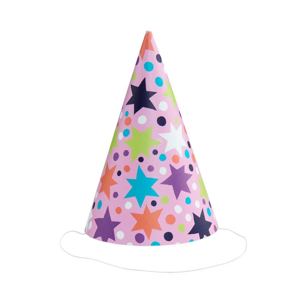 ON TOP Party čepice hvězdy set 6 ks