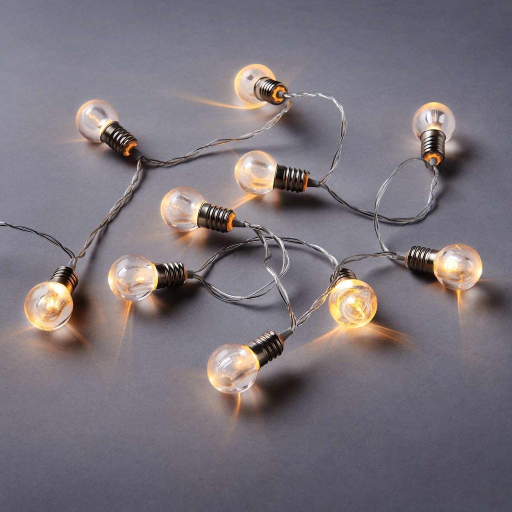 BRIGHT LIGHTS LED Světelný řetěz mini žárovky 10 sv.