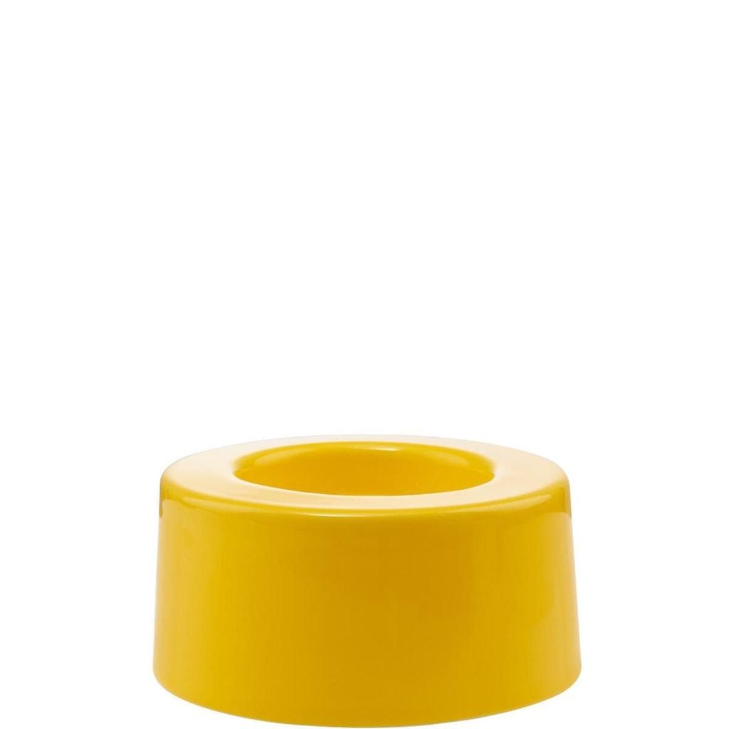 CANDELA Podstavec svícnu velký - žlutá
