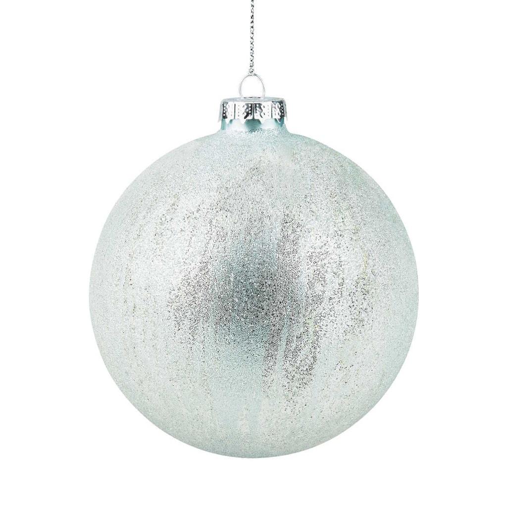 HANG ON Ozdoba koule omrzlá 10 cm