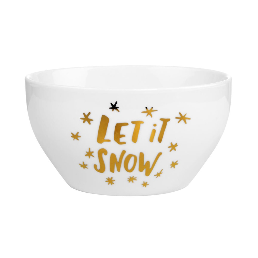 WHITE XMAS Miska Let it snow