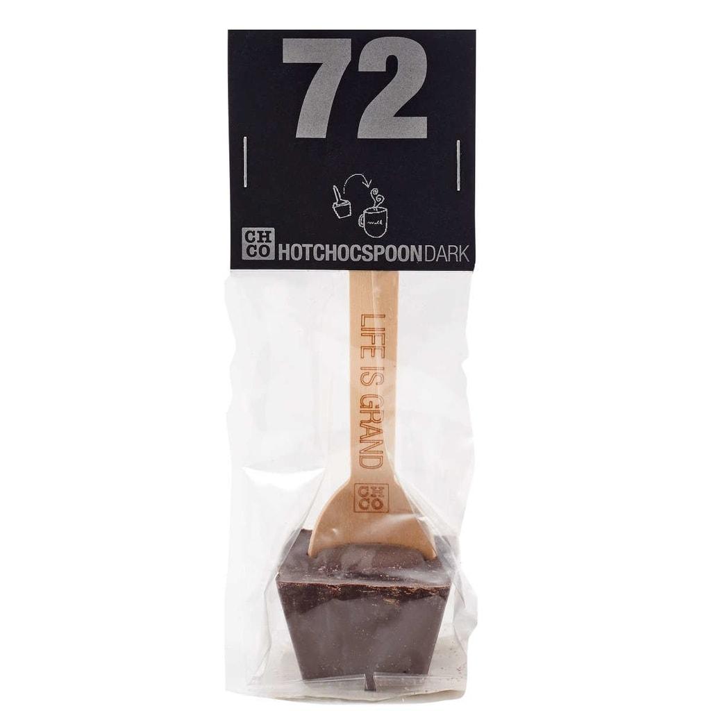 HOTCHOCSPOON Horká čokoláda 72% kakaa 50 g