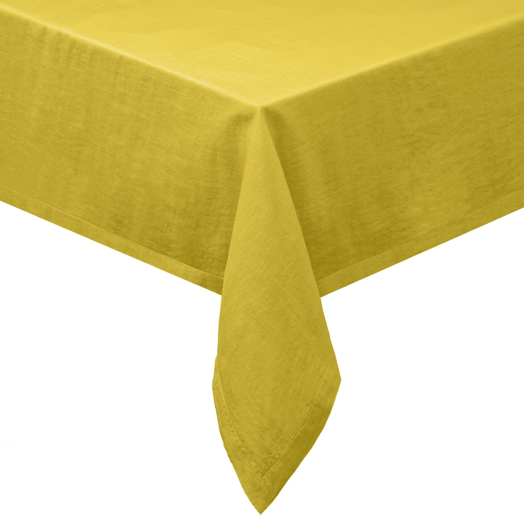 COLORÉ NATURE Ubrus - žlutá