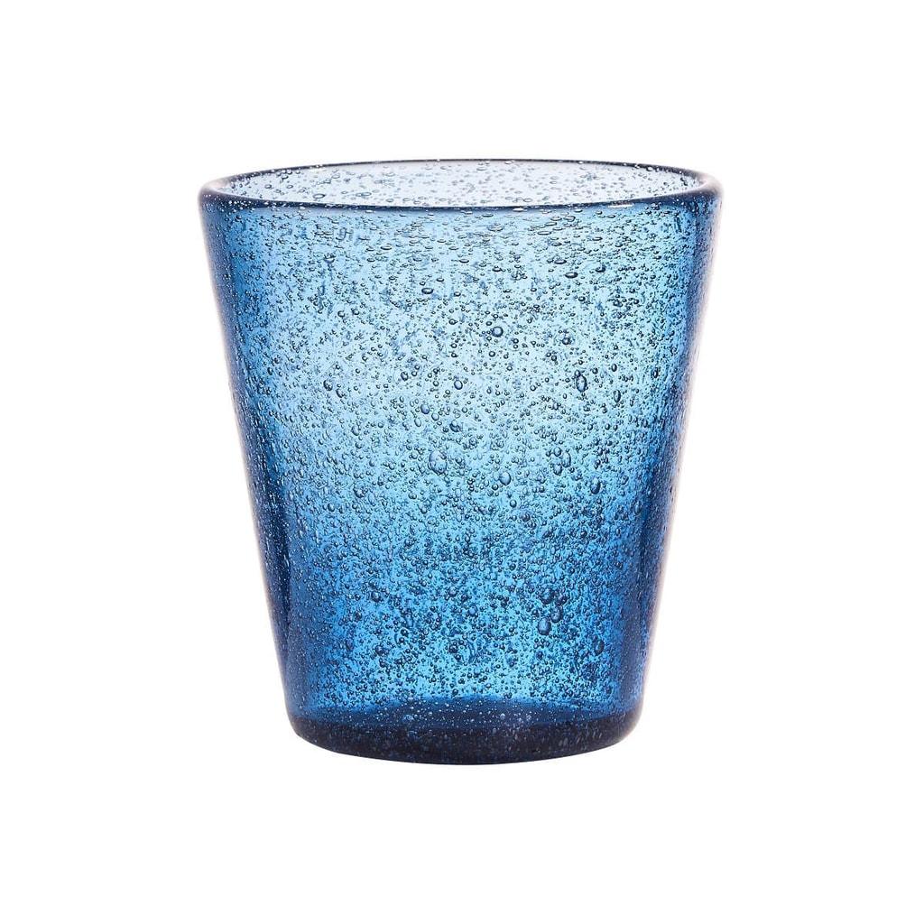 WATER COLOUR Sklenice 290 ml - modrá