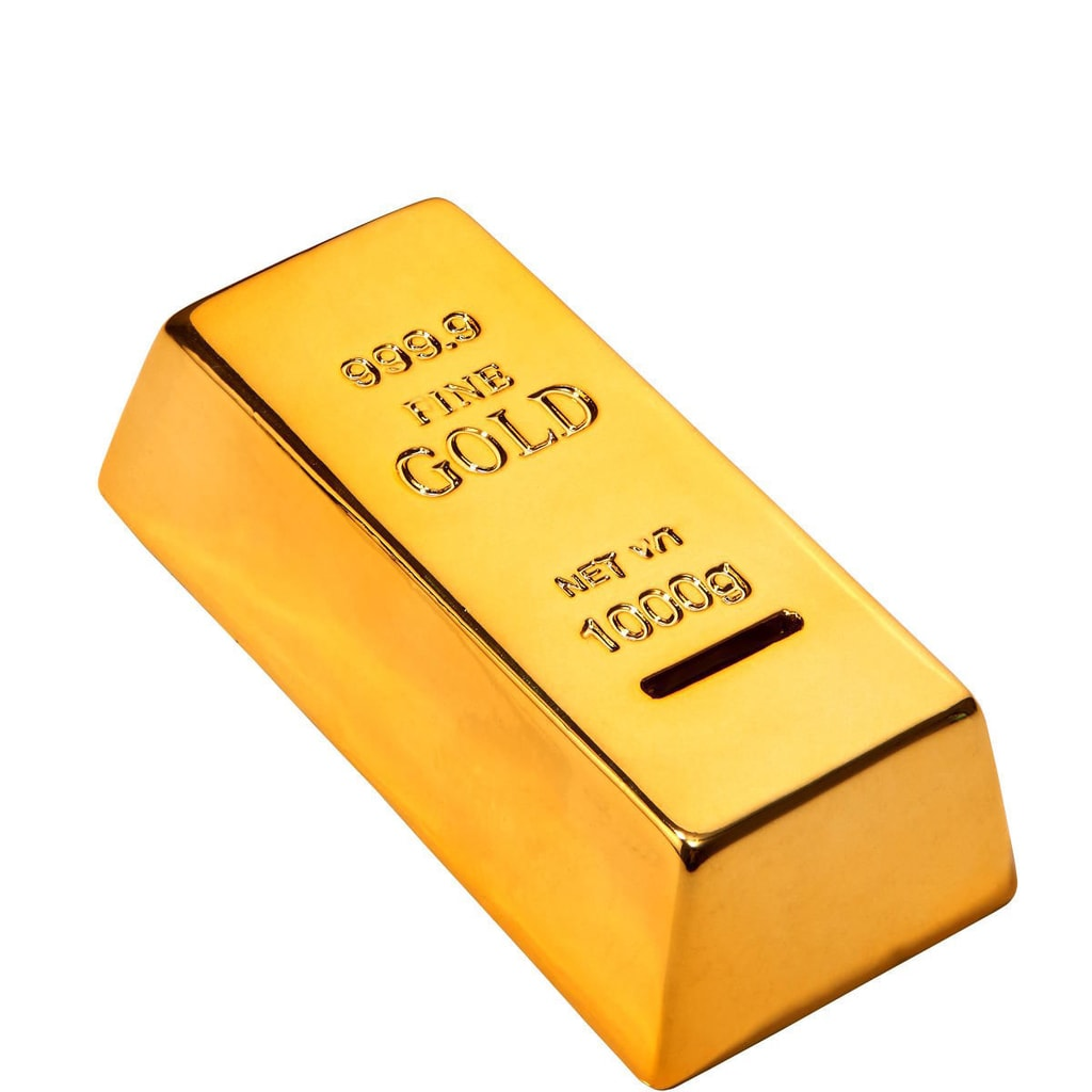 PANTONE GOLD Pokladnička