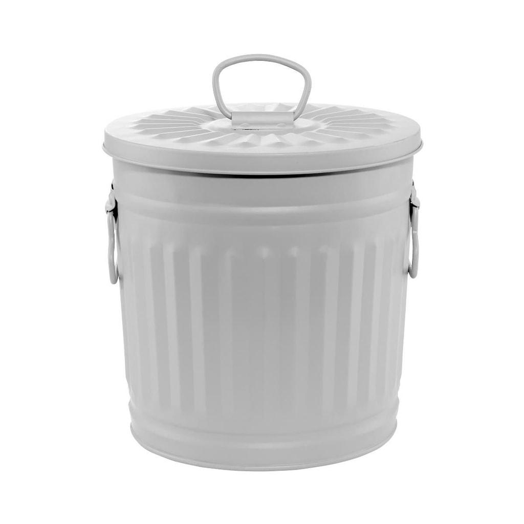 LITTLE OSCAR Odpadkový koš 18 l - sv. šedá